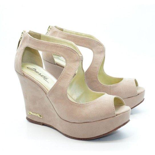 Peep Toe Barth Shoes Meca - Bege