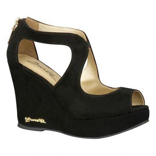 Peep Toe Barth Shoes Meca - Preto