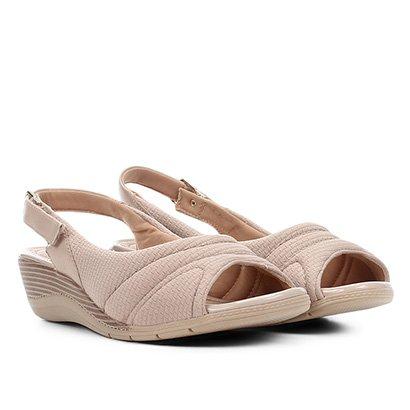 Peep Toe Comfortflex Chanel Anabela