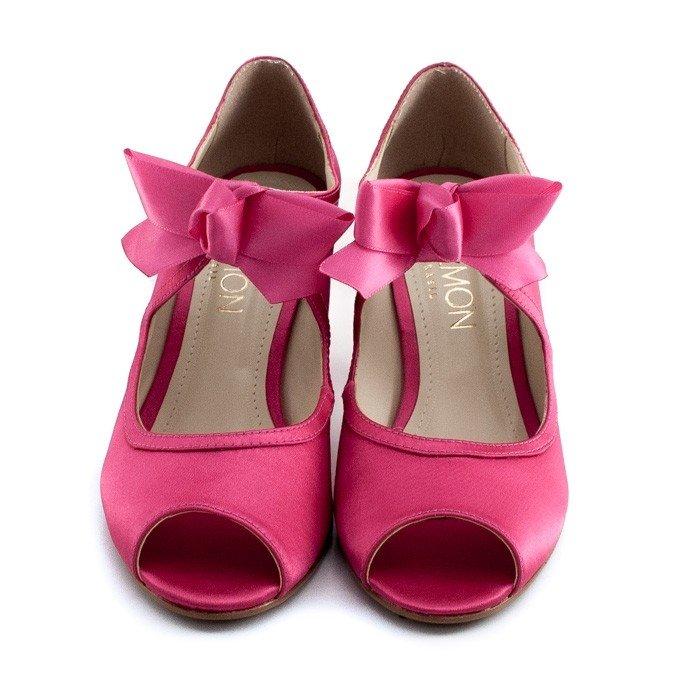 Belmon Toe Pink Peep Toe Peep de Pink Belmon Peep Noiva Noiva Toe de de wAqgEdn