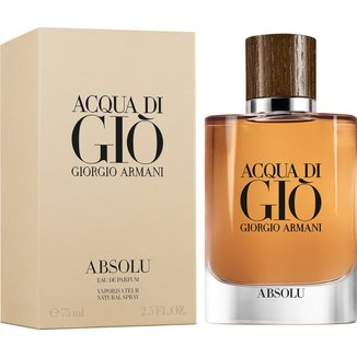 Perfume Acqua Di Giò Absolu Masculino Giorgio Armani Eau de Parfum 75ml