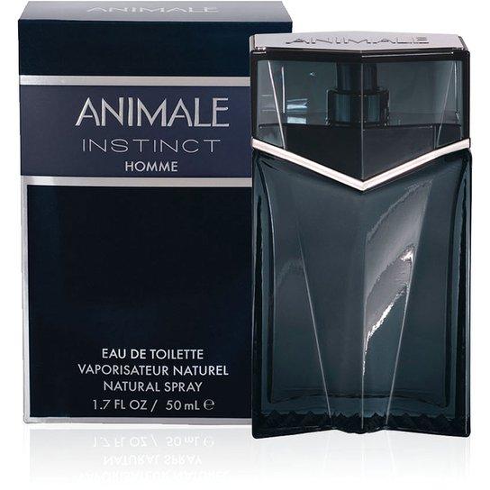 Perfume Animale Instinct Masculino EDT 50ml - Incolor