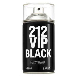 Perfume Carolina Herrera 212 Vip Men Black Body Spray Masculino 250ml