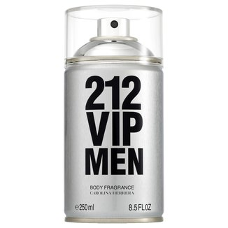 Perfume Carolina Herrera 212 Vip Men Body Spray Masculino 250ml
