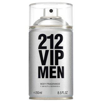 Perfume Carolina Herrera 212 Vip Men Body Spray Masculino 250ml