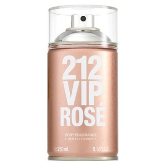 Perfume Carolina Herrera 212 Vip Rosé Body Spray Feminino 250ml
