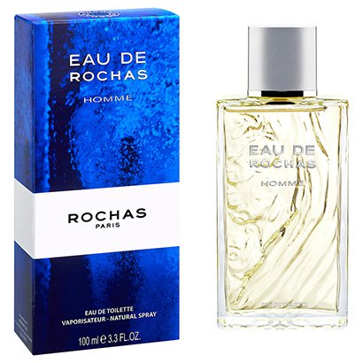 Perfume Eau de Homme - Rochas - Eau de Toilette Rochas Masculino Eau de Toilette