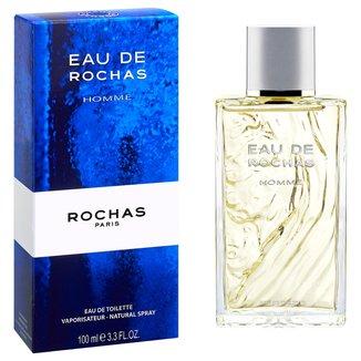 Perfume Eau de Rochas Homme Masculino Rochas EDT 100ml