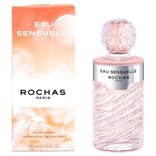 Perfume Eau Sensuelle Feminino Rochas EDT 100ml - Incolor