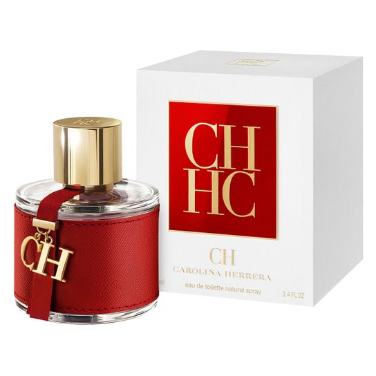 Perfume Feminino CH Carolina Herrera Eau de Toilette 100ml - Incolor