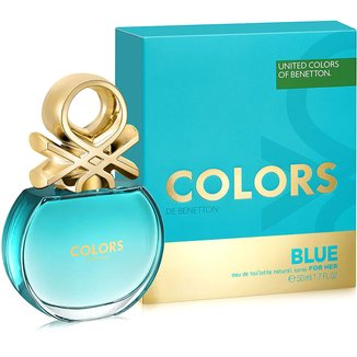 Perfume Feminino Colors Blue Benetton Eau de Toilette 50ml