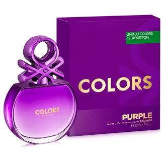 Perfume Feminino Colors Purple Benetton Eau de Toilette 80ml