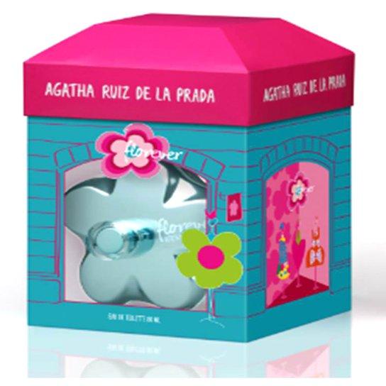 Perfume Feminino Florever Fashion Collector Agatha Ruiz de La Prada Eau de Toilette 80ml - Incolor