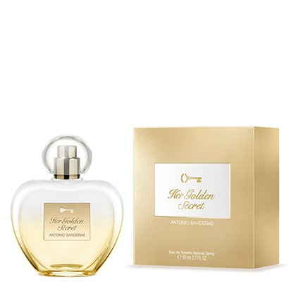 Perfume Feminino Her Golden Secret Antonio Banderas Eau de Toilette 80ml - Feminino