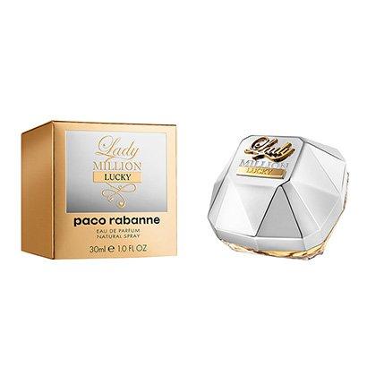 Perfume Feminino Lady Million Lucky Paco Rabanne Eau de Parfum 30ml - Feminino-Incolor