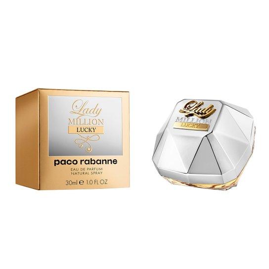 Perfume Feminino Lady Million Lucky Paco Rabanne Eau de Parfum 30ml - Incolor