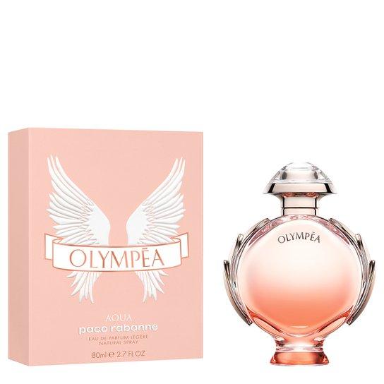 Perfume Feminino Olympéa Aqua Paco Rabanne Eau de Parfum 80ml - Incolor