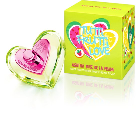 Perfume Feminino Tutti Frutti Love Agatha Ruiz de La Prada Eau de Toilette 80ml - Incolor
