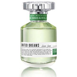 Perfume Feminino United Dreams Live Free Benetton Eau de Toilette 50ml