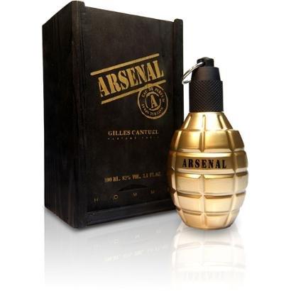 Perfume Arsenal Gold - Gilles Cantuel - Eau de Parfum Gilles Cantuel Masculino Eau de Parfum