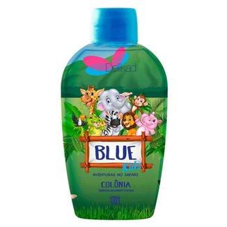 Perfume Infantil Delikad Kids Safari Blue 100 ml