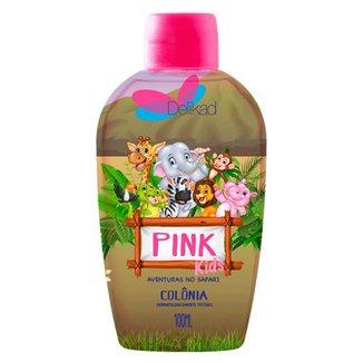 Perfume Infantil Delikad Kids Safari Pink 100 ml
