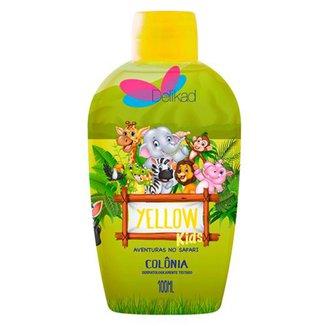 Perfume Infantil Delikad Kids Safari Yellow 100 ml