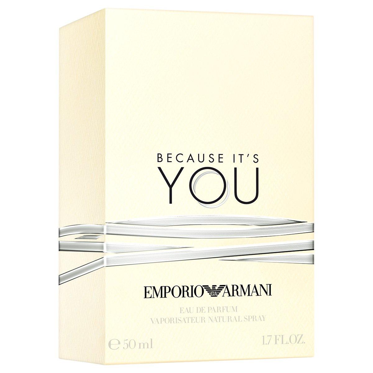 8e9df8408b5a5 Perfume It s You Feminino Giorgio Armani EDP 50ml - Incolor - Compre ...