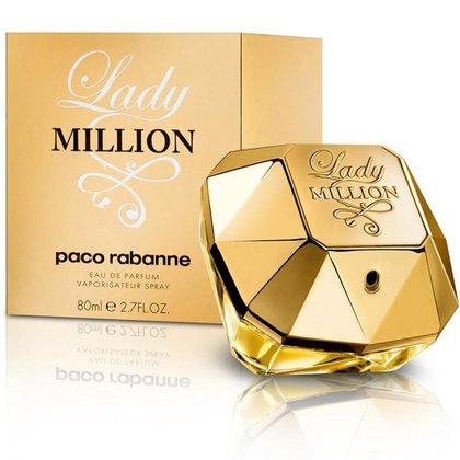 perfume lady million paco rabanne eau de parfum feminino