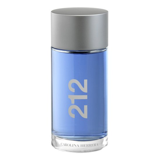 Perfume Masculino 212 NYC Men Carolina Herrera Eau de Toilette 200ml - Incolor