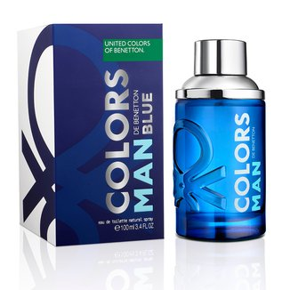 Perfume Masculino Colors Man Blue Benetton Eau de Toilette 100ml