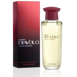 Perfume Masculino Diavolo Men Antonio Banderas Eau de Toilette 100ml