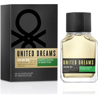 Perfume Masculino Dream Big Man Benetton Eau de Toilette 100ml