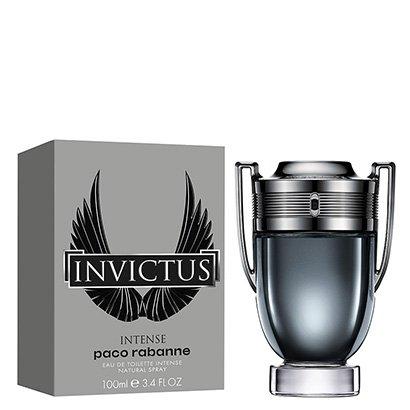 Perfume Masculino Invictus Intense Paco Rabanne Eau de Toilette 100ml - Masculino-Incolor