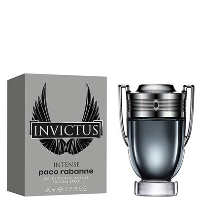 Perfume Masculino Invictus Intense Paco Rabanne Eau de Toilette 50ml - Masculino-Incolor