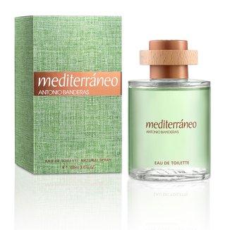 Perfume Masculino Mediterráneo Antonio Banderas Eau de Toilette 100ml