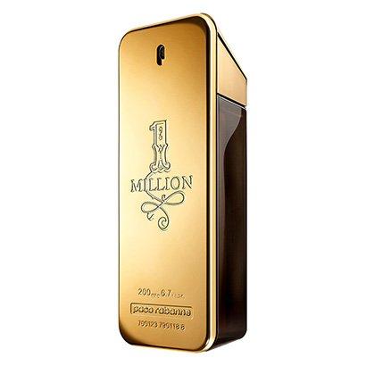 Perfume Masculino One Million Paco Rabanne Eau de Toilette 200ml - Masculino-Incolor