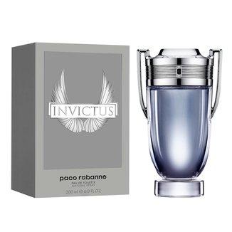 Perfume Masculino Paco Rabanne Invictus Eau De Toilette 200ml