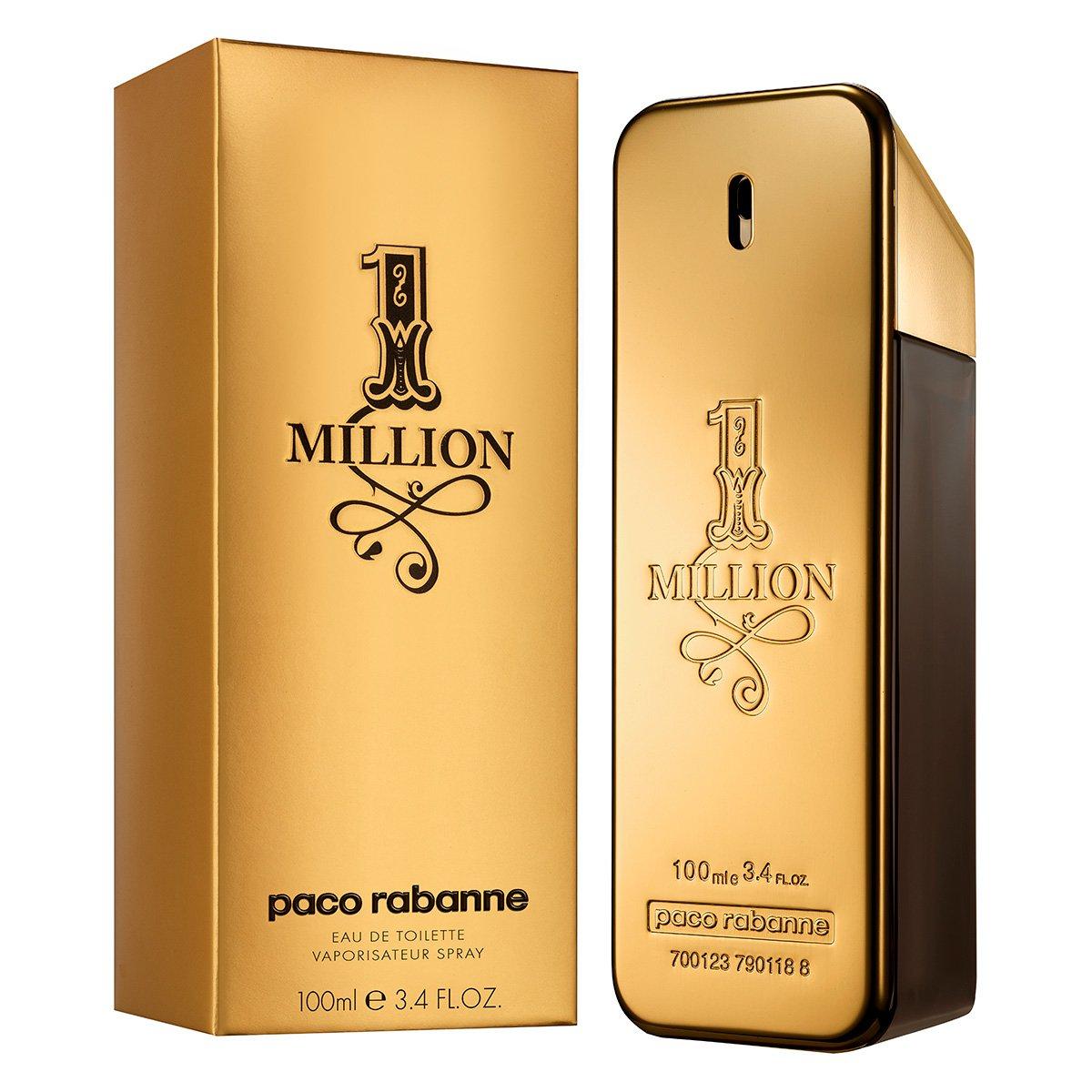 perfume one million masculino paco rabanne edt 100ml. Black Bedroom Furniture Sets. Home Design Ideas