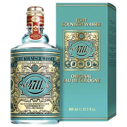 Perfume Original Eau de Cologne 4711 Água de Colônia 800ml