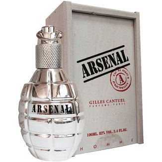 Perfume Platinium Wood Masculino Arsenal Eau De Parfum 100ml