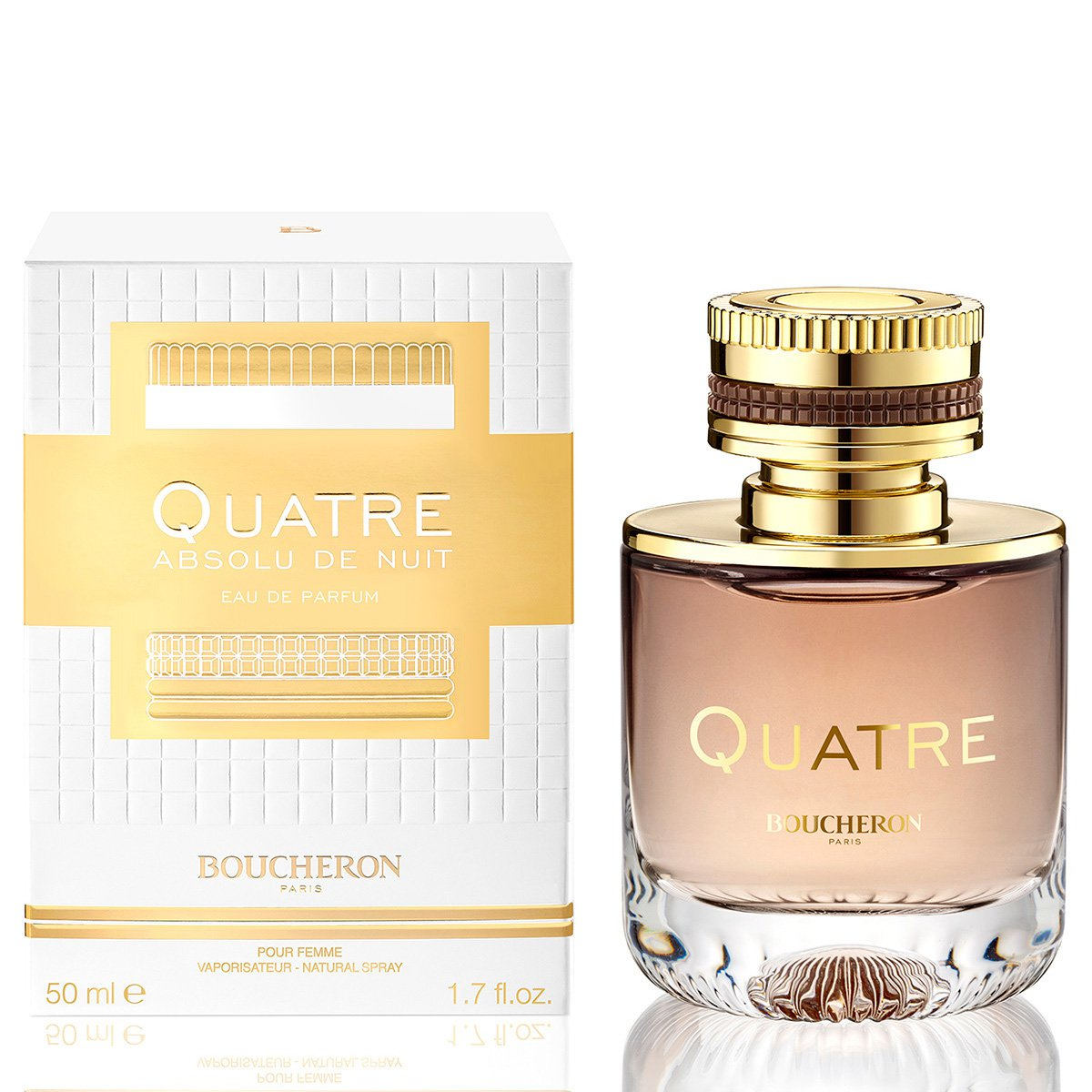 Perfume Quatre Absolu de Nuit Pour Femme Feminino Boucheron Eau de Parfum  50ml - Incolor 869a92d4a1