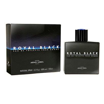 Perfume Royal Black - Arno Sorel - Eau de Toilette Arno Sorel Masculino Eau de Toilette