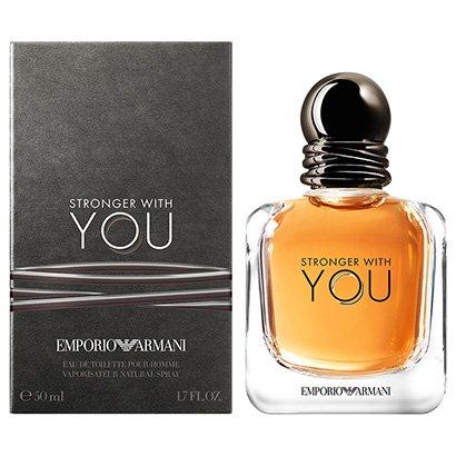 Perfume Stronger With You - Giorgio Armani - Eau de Toilette Giorgio Armani Masculino Eau de Toilette