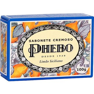 Phebo Sabonete Cremoso Limão Siciliano 100g