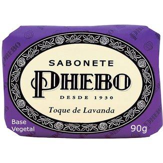 Phebo Sabonete em Barra de Glicerina Toque de Lavanda 90g