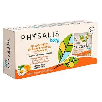 Physalis Puro Carinho Kit – 3 Sabonetes em Barra Kit