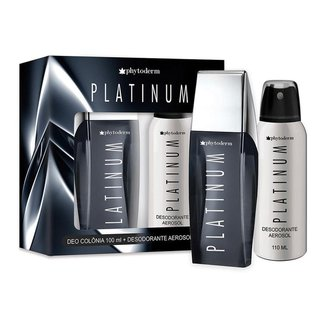 Phytoderm Platinum Kit – Deo Colônia 100ml + Desodorante Aerosol Kit