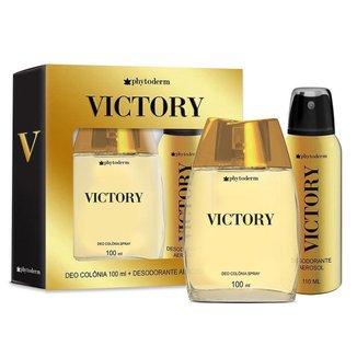 Phytoderm Victory Kit – Deo Colônia 100ml + Desodorante Aerosol Kit