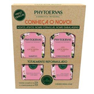 Phytoervas Cabelos Lisos Kit – Shampoo + Condicionador Kit